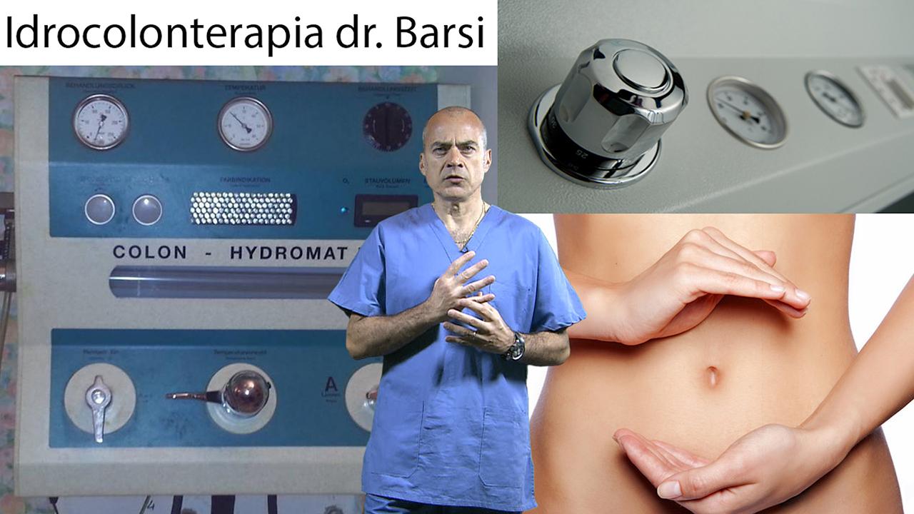 Con il dr. Robero Barsi scopriamo Idrocolonterapia