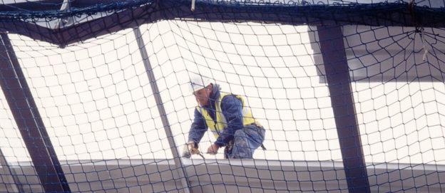 La sicurezza nei cantieri edili la si fa con le reti