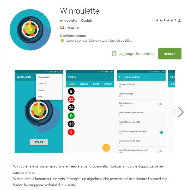 Pronta la nuova app winroulette per dispositivi mobile