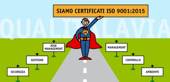 Certificazione iso 9001: info