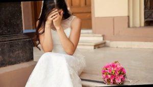 sposa abbandonata