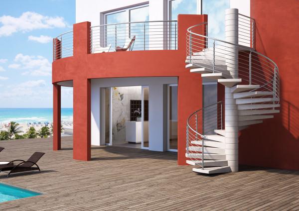 Cinque esempi di scale esterne che abbinano stile e for Scale esterne design