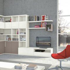 Rendere intrigante un Interior Design con le librerie a parete