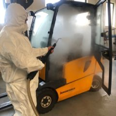 Generatori di vapore professionali per l'industria