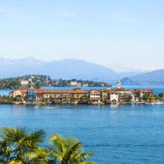 Tre luoghi turistici sul lago maggiore