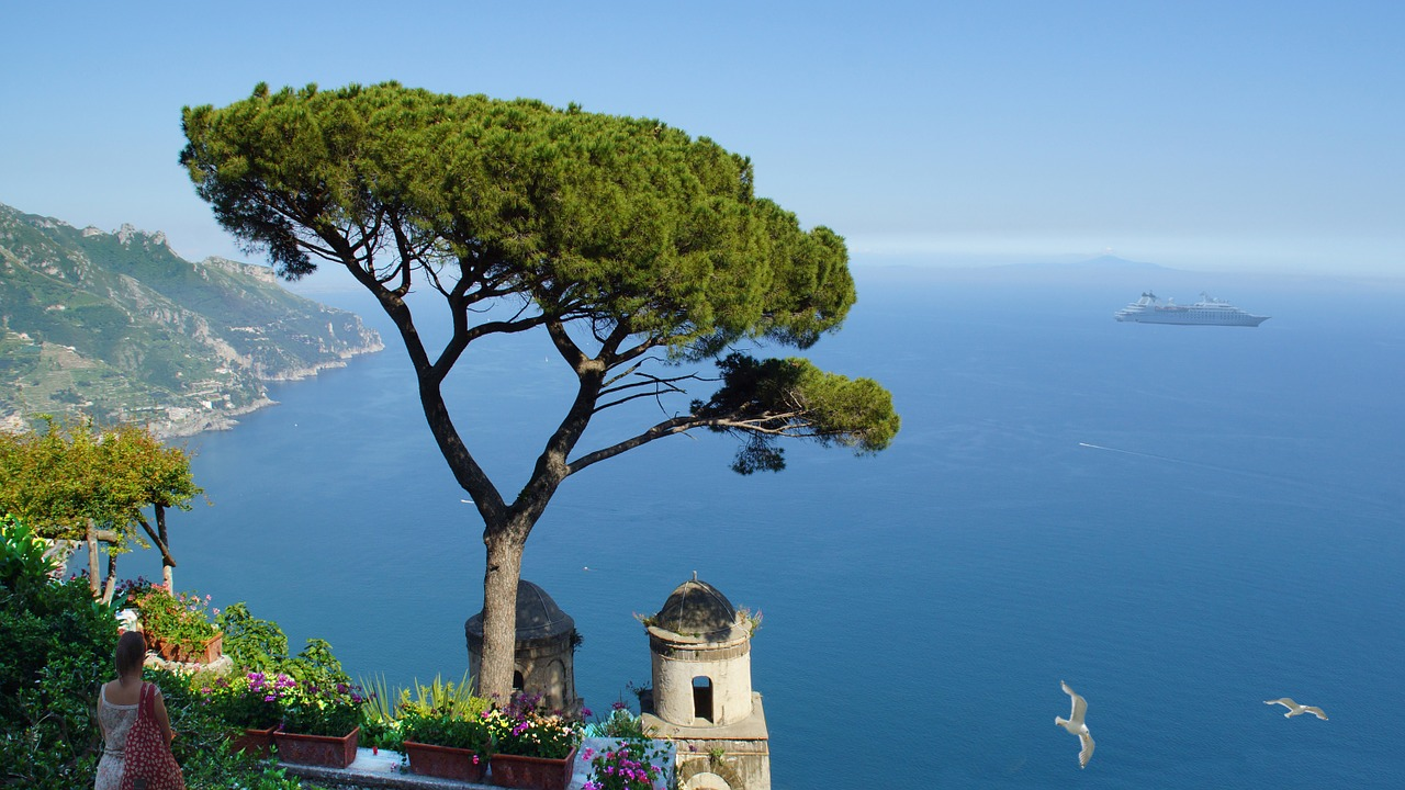 Arrivare dal mare a Capri, Positano e Amalfi